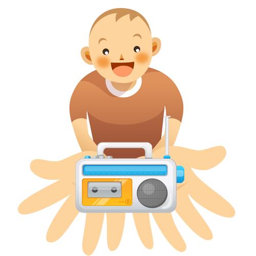 ラジオ少年